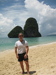 Chris on Railay Beach